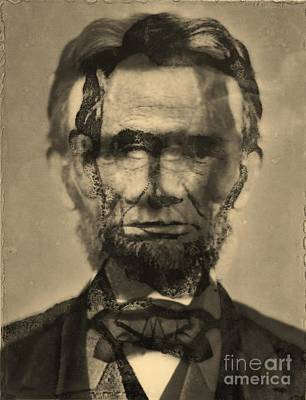 Abraham Lincoln Art Print by Michael Kulick