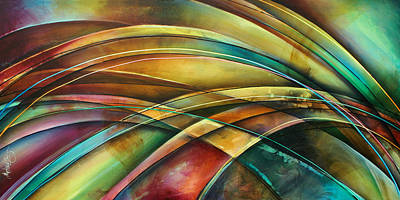' Abstract ' L1 Print by Michael Lang