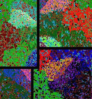 Abstract Fusion 86 Art Print