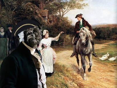 Affenpinscher Painting -  Affenpinscher Art Canvas Print by Sandra Sij