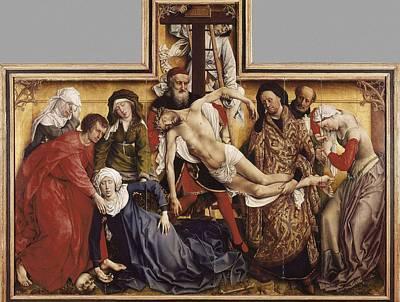 � Aisaeverett Collection Weyden, Rogier Art Print by Everett