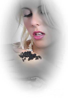 Alina Caviar Art Print by Emil Jianu