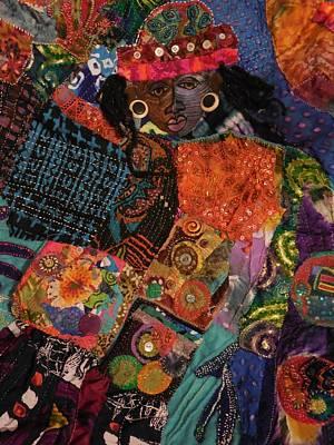 Tapestry - Textile -  Aliyah by Gwendolyn Aqui-Brooks
