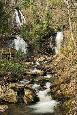 Photograph -  Amacola Falls by Penny Lisowski