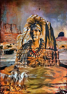 American Indian Original by Andrzej Szczerski