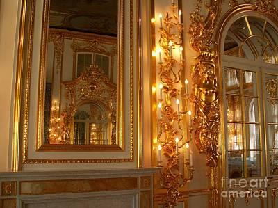 Ancient Hall In Museum Original