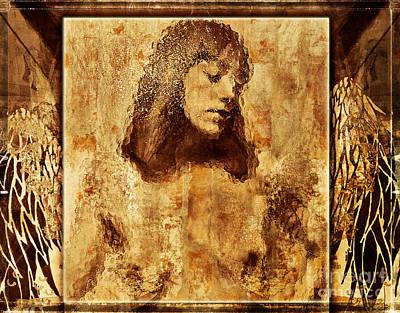 Spirit Guides Digital Art -  Angel Of Hope by Jeff Breiman