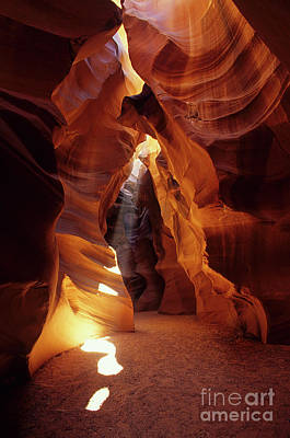 Photograph -  Antelope Canyon Ray Of Hope by Bob Christopher