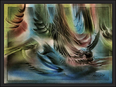 Pastel -  Ark Of Noah 2010 by Glenn Bautista