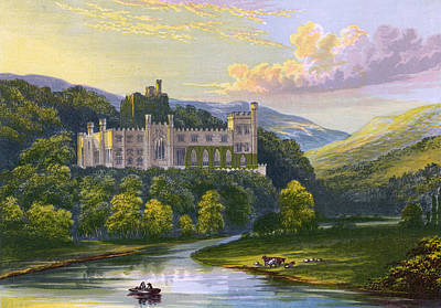Arundel Castle Drawing -  Arundel Castle, Sussex         Date by Mary Evans Picture Library
