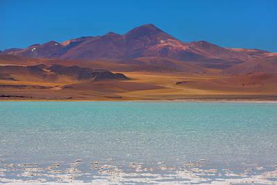 Atacama Salt Lake Art Print