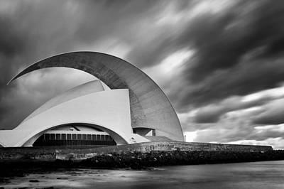 Photograph -  Auditorio De Tenerife by Fabrizio Troiani
