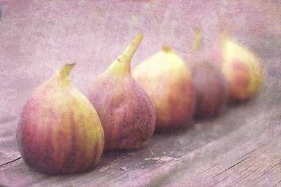 Autumn Mission Figs  Art Print by Suzanne Powers