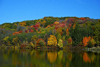 Photograph -  Autumn Reflection by Crystal Wightman