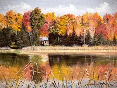 Splendor Painting -  Autumn  Splendor by Vicky Path