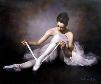 Ballerina 3 Art Print