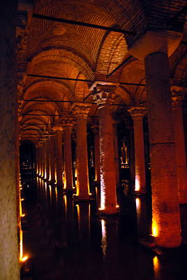 Priska Wettstein Pink Hues Royalty Free Images -  Basilica Cistern Royalty-Free Image by Jacqueline M Lewis