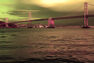 Photograph -  Bay Bridge, San Francisco by Aidan Moran