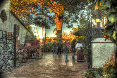 Old Town San Diego Photograph -  Bazar Del Mundo by Frank Garciarubio