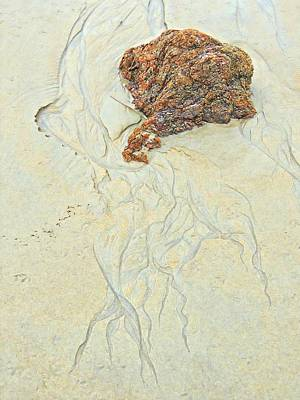 Beach Sand  2 Art Print