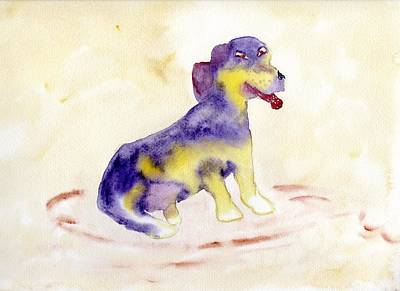 Painting -  Beagle Bright by Jim Taylor