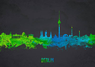 Tower Digital Art -  Berlin Germany by Aged Pixel