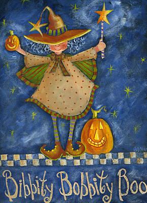 Painting -  Bibbity Bobbity Boo by Pat Olson