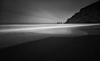 Keys Photograph - ... Black Beach by Raymond Hoffmann
