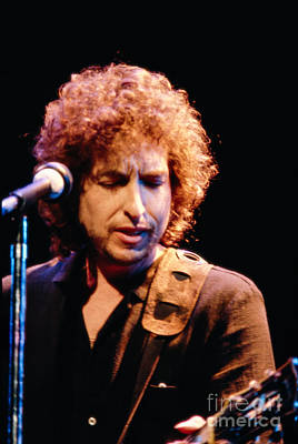 Bob Dylan Photograph -  Bob Dylan '79 by Tracy Knauer
