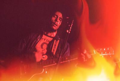 Photograph -  Bob Marley Catch A Fire  by Errol Wilson