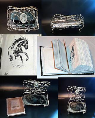 Mnm Mixed Media -  Book 2 Of 11  by Nicu Dumitrescu