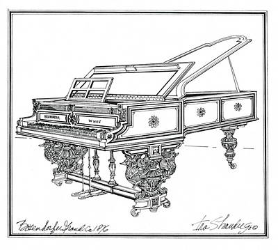 Bosendorfer Centennial Grand Piano Original by Ira Shander
