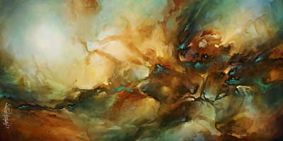 Earth Tones Painting - ' Breach ' by Michael Lang