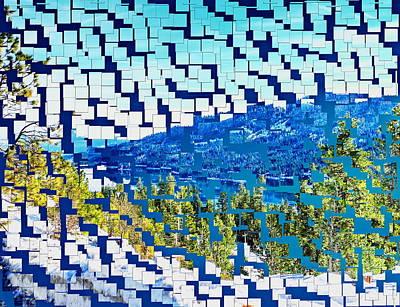 Breaking Away To Donner Lake Art Print