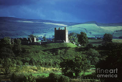 Photograph -  Brough Castle - Cumbria - England by Phil Banks