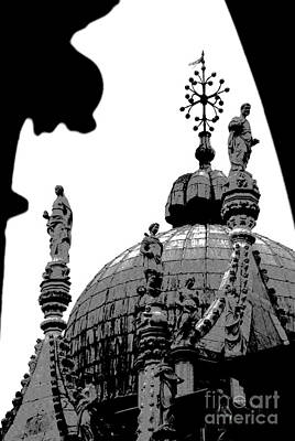 Photograph -  Byzantine Dome by Jacqueline M Lewis