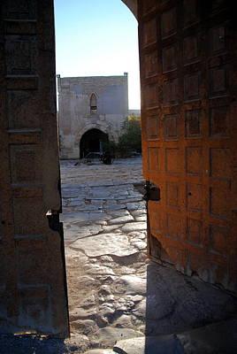Photograph -  Caravanserais Central Gate - Anatolia by Jacqueline M Lewis