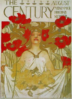 Century Midsummer Holiday Number Art Print by Joseph Christian Leyendecker