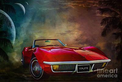 Chevrolet Corvette1972 Original by Andrzej Szczerski