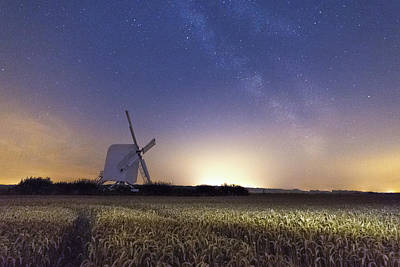 Astro Photograph -  Chillenden Windmill - Kent by Ian Hufton