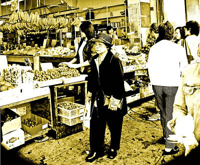 Photograph -  China Town Marketplace by Joseph Coulombe