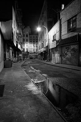 35mm Photograph -  Chinatown New York City - Doyers Street by Gary Heller