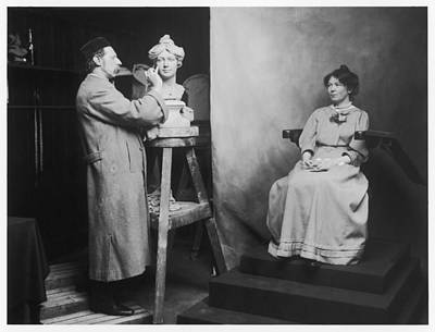 Wax Art Photograph -  Christabel Pankhurst, Women's  Rights by Mary Evans Picture Library