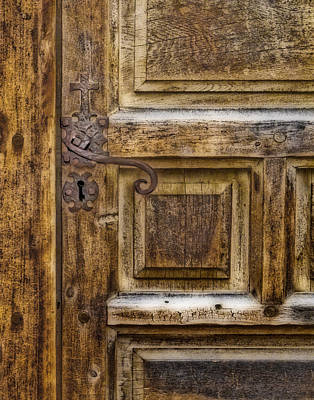 Photograph -  Church Door by David and Carol Kelly