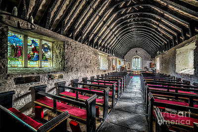 Aisle Photograph -  Church Of St Mary by Adrian Evans