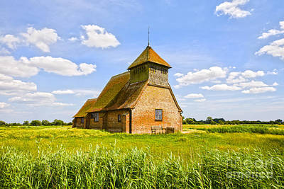 Photograph -  Church Of Thomas A Becket Romney Marsh Kent by Colin and Linda McKie