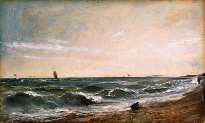 John Constable Painting - Coast Scene. Brighton by John Constable