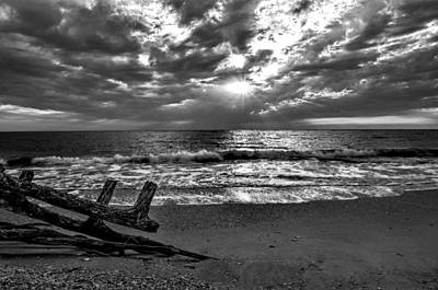 Colorless Sunset Art Print by Bob Jackson
