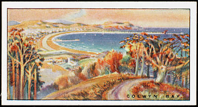 Colwyn Bay Drawing -  Colwyn Bay,  Denbigh        Date 1920s by Mary Evans Picture Library