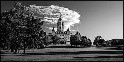 Photograph -  Connecticut Capitol Bulding by Phil Cardamone